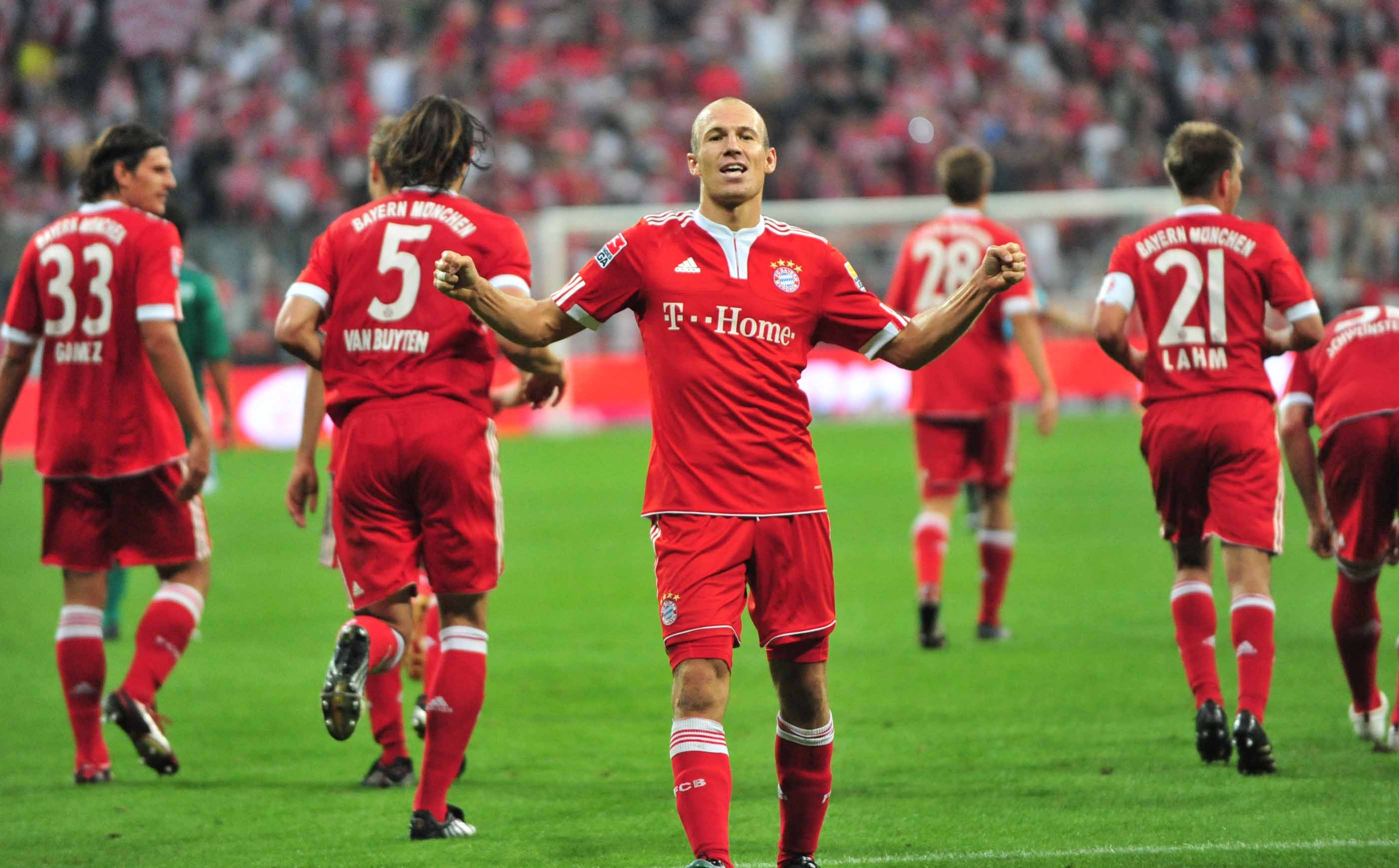 1. Fussball Bundesliga, 1. FC Bayern – VfL Wolfsburg,
